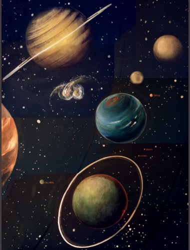 solar system paintings - photo #16